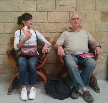 Federico e signora
